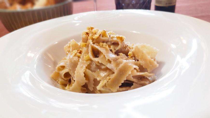 Pasta Integrale (Tagliatelle) Noce d'Oro e Gorgonzola